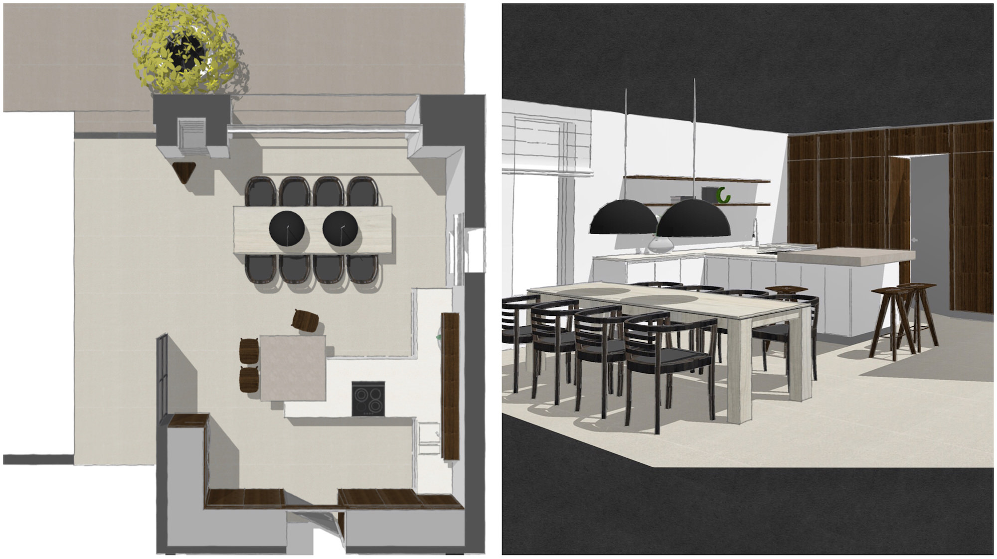 SketchUp for Interior Designer in London