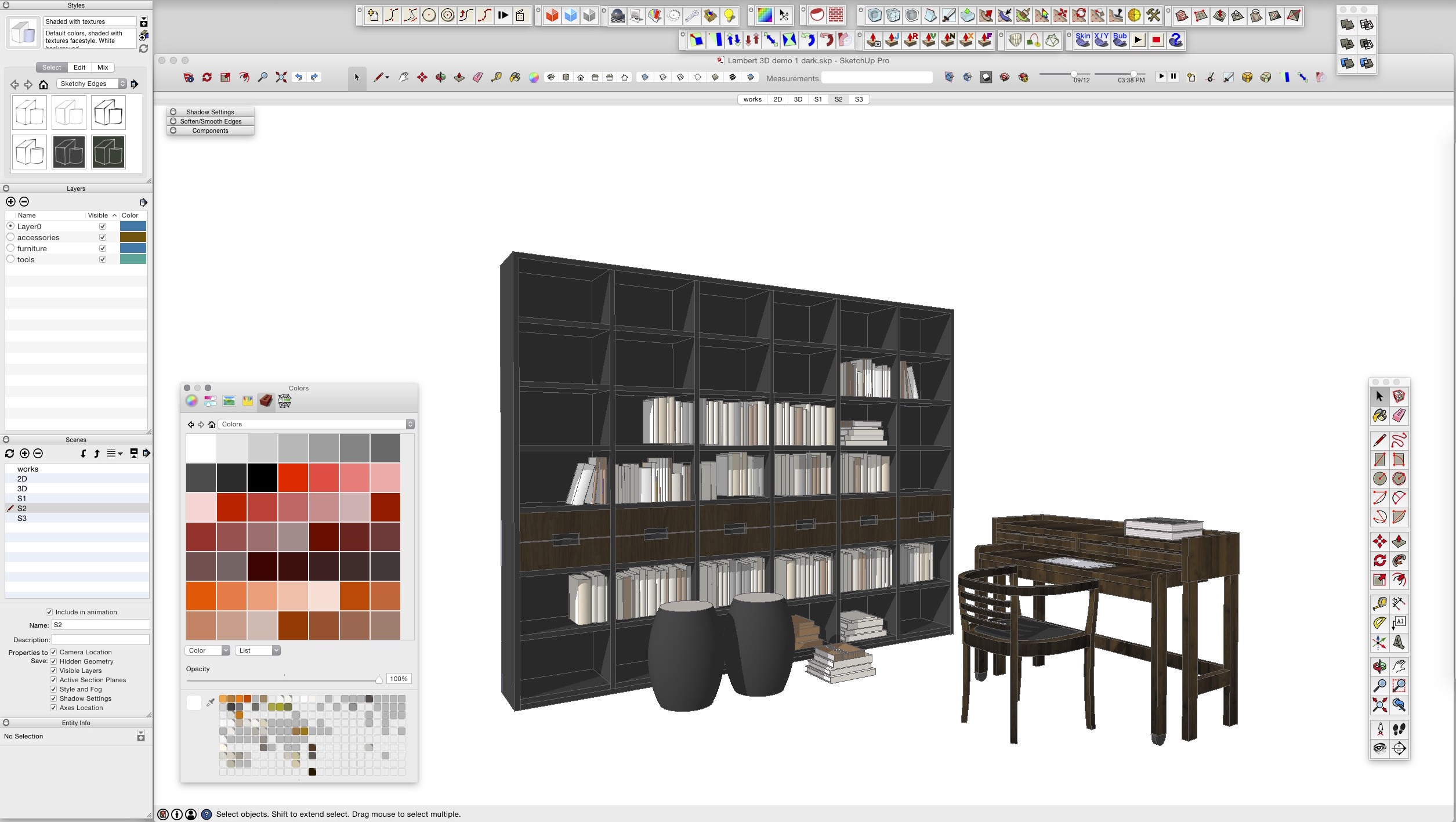 SketchUp tutorials for Interior Designer
